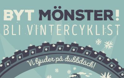 Kommunen satsar på vintercyklister