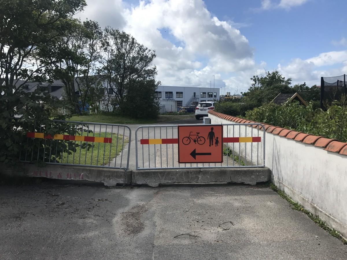 Insändare till HN: Här är cykelbanan som försvann