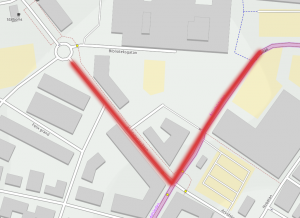 Arvidstorpsvägen / Holgersgatan